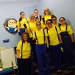 What a lovely group of...minions!