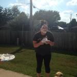 Terrica takes the cake..er, pie